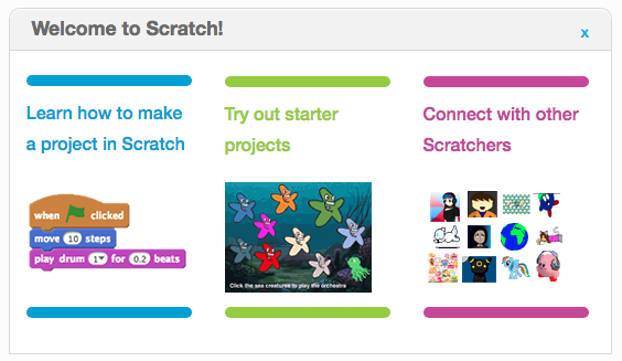 Scratch Website