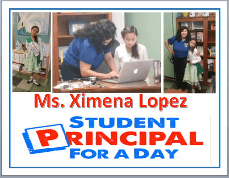 Student Principal for the Day